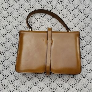 Vintage Bags - Vintage Ronora Italy Leather Mini Purse Clutch Bag